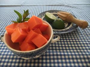 Papaya & lime j