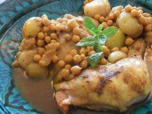 Chicken tagine, a Moroccan favourite