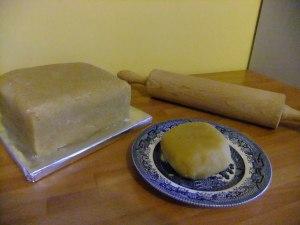 Marzipan (almond paste)