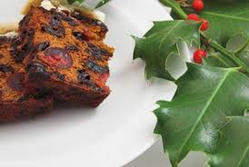 Delicious gluten-free dairy-free Christmas cake