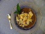 Chocolatey cashew (& carob) cream